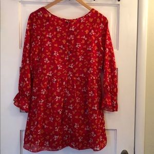Free People Tops - FREE PEOPLE Court Me With Flowers Tunic Size 4
